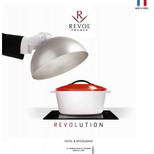 Жаровня керамическая, 4,2 л, L 36 см, W 26 см, жаропрочная керамика, Revolution, REVOL, Франция, арт. 31599, фото 7