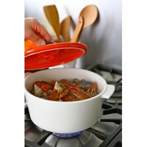 Кастрюля керамическая Revolution, 3.4 л, для любых плит и духовки, красный, REVOL, Франция, арт. 2531, фото 12