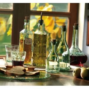 Бутылка для масла с пробкой «Fiori», 575 мл, H 30 см, L 6 см, W 6 см, Bormioli Rocco - Fidenza, Италия, арт. 7358, фото 2