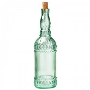 Бутылка для вина с пробкой «Essizi», 740 мл, D 8 см, H 31,5 см, L 8 см, Bormioli Rocco - Fidenza, Италия, арт. 7355, фото 1