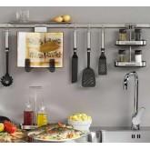 Рейлинги и кухонные инструменты