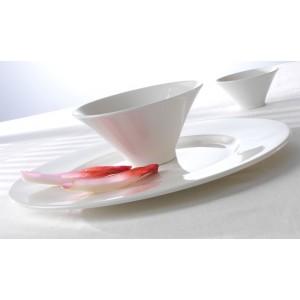 Салатник «Monaco White», 610 мл, D 30,5 см, фарфор, Steelite, Великобритания, арт. 9304, фото 3