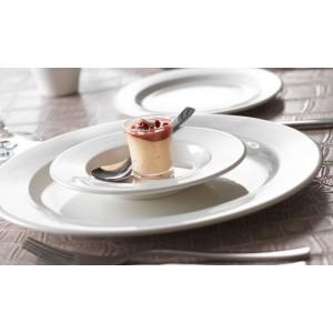 Тарелка для пасты «Monaco White», D 30 см, фарфор, Steelite, Великобритания, арт. 9065, фото 3