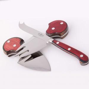 Набор ножей для сыра, 3 предмета, DEL BEN, Италия, арт. 857, фото 2