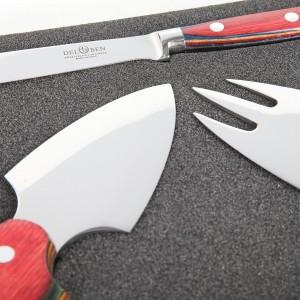 Набор ножей для сыра, 3 предмета, DEL BEN, Италия, арт. 857, фото 7