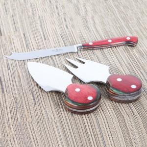 Набор ножей для сыра, 3 предмета, DEL BEN, Италия, арт. 857, фото 5