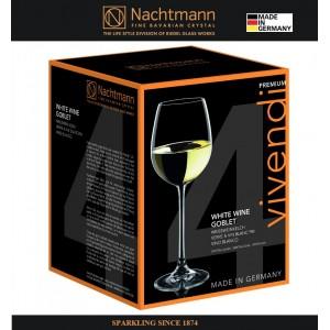 Набор бокалов VIVENDI для белых вин, 4 шт, 475 мл, бессвинцовый хрусталь, Nachtmann, Германия, арт. 16366, фото 7