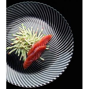 Тарелка обеденная, D 23 см, бессвинцовый хрусталь, серия SAMBA, Nachtmann, Германия, арт. 16126, фото 4