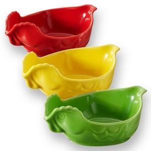 Блюдо вдля запекания и подачи, 2 л, 34х22х7 см, цвет зеленый, фарфор, серия Happy cuisine, REVOL, Франция, арт. 2504, фото 7