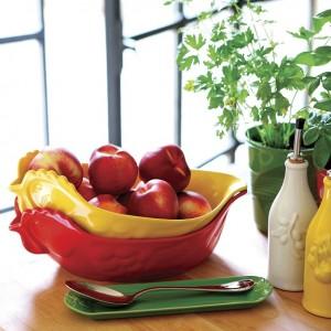 Блюдо вдля запекания и подачи, 2 л, 34х22х7 см, цвет зеленый, фарфор, серия Happy cuisine, REVOL, Франция, арт. 2504, фото 3
