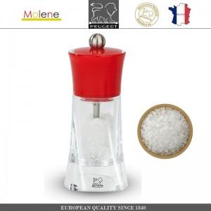 Мельница Molene для соли, H 14 см, красный, Peugeot, Франция, арт. 53238, фото 1