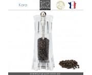 Мельница Kara для перца, H 14 см, акрил прозрачный, Peugeot, Франция