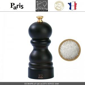 Мельница PARIS CLASSIC Chocolate для соли, H 12 см, PEUGEOT, Франция, арт. 8697, фото 1