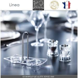 Подставка Linea для 2-х мельниц, акрил, сталь, PEUGEOT, Франция, арт. 8725, фото 3