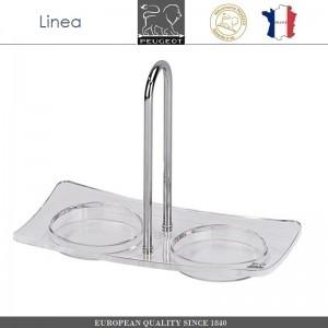 Подставка Linea для 2-х мельниц, акрил, сталь, PEUGEOT, Франция, арт. 8725, фото 1