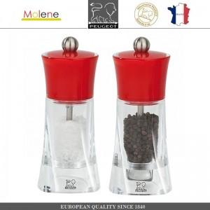 Мельница Molene для соли, H 14 см, красный, Peugeot, Франция, арт. 53238, фото 4