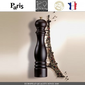 Мельница PARIS CLASSIC Chocolate для перца, H 40 см, PEUGEOT, Франция, арт. 8700, фото 8