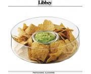 Chip&Dip Блюдо-менажница для закусок, D 27.5 см, стекло, Libbey