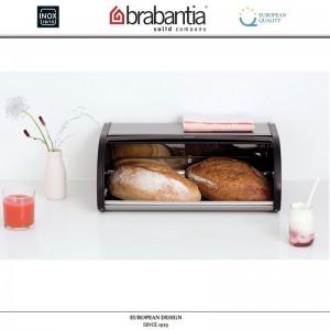 Хлебница ROLL Top с крышкой-слайдером, L 44.5 см, матовая сталь, Brabantia, Бельгия, арт. 40424, фото 7