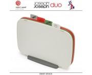 Набор 4-х досок DUO для разных видов продуктов, на подставке, Joseph Joseph, Великобритания