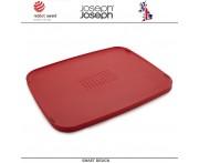 Двухсторонняя разделочная доска Duo Multi-function, красный, Joseph Joseph, Великобритания