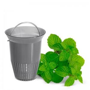 Заварочный чайник с ситечком, 0,6 л, ABS пластик, белый, серия ELLIPSE, Emsa, Германия, арт. 55087, фото 3