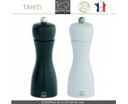 Комплект мельниц Tahiti DUO для соли и перца, H 15 см, черный - белый, PEUGEOT, Франция