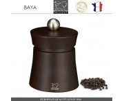 Мельница Baya для перца, H 8 см, темное дерево, PEUGEOT, Франция