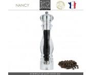 Мельница NANCY для перца, H 38 см, акрил прозрачный, PEUGEOT, Франция