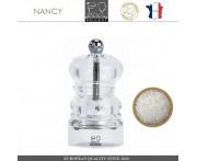 Мельница NANCY для соли, H 9 см, акрил прозрачный, PEUGEOT, Франция