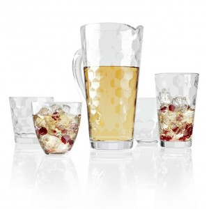 Высокий стакан, 410 мл, H 14 см, D 8.5 см, стекло, серия Honey, Vidivi, Италия, арт. 29905, фото 3