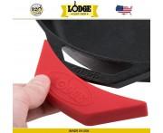 Накладка на ручку силиконовая, L 14 см, красный, Lodge, США