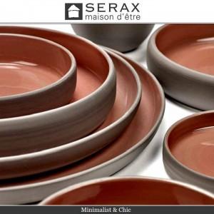 Блюдо-салатник DUSK Rouge, D 12 см, H 2 см, керамика ручной работы, SERAX, Бельгия, арт. 87165, фото 5