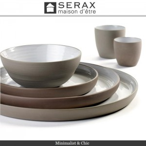 Блюдо-салатник DUSK Bleu, D 12 см, H 2 см, керамика ручной работы, SERAX, Бельгия, арт. 87164, фото 7