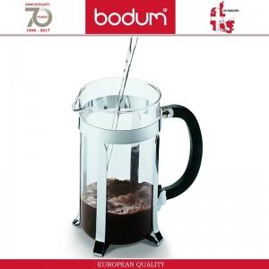 Френч-пресс CAFFETTIERA для кофе, чая, 350 мл, темно-зеленый, BODUM, арт. 87606, фото 3
