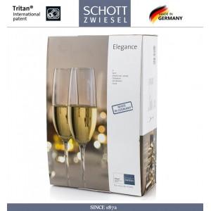 Набор бокалов ELEGANCE для шампанского, игристых вин, 2 шт, 228 мл, SCHOTT ZWIESEL, Германия, арт. 69446, фото 2