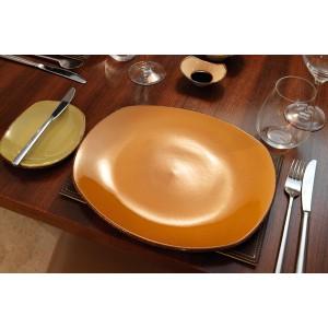 Тарелка мелкая с узором, L 15,5 см, фарфор, серия Terramesa бежевый, Steelite, Великобритания, арт. 30637, фото 5