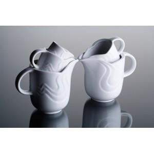 Чайник  с крышкой  «Melodie», 1150 мл, D 22,9 см, H 15,7 см, W 21,5 см, фарфор столовый, G.Benedikt, Чехия, арт. 7923, фото 6