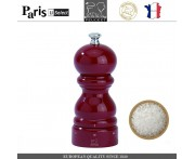 Мельница Paris U Select Laque Rouge для соли, H 12 см, бордовый, PEUGEOT, Франция