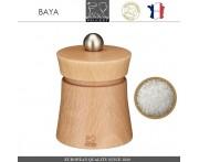 Мельница Baya для соли, H 8 см, светлое дерево, PEUGEOT, Франция