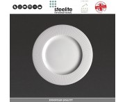 Десертная (пирожковая) тарелка Willow, D 15.8 см, фарфор, Steelite, Великобритания