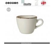 Кофейная чашка Brown Dapple для эспрессо, 85 мл, Steelite, Великобритания