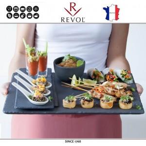 Блюдо BASALT для подачи прямоугольное, 30 x 20 см, REVOL, Франция, арт. 8835, фото 3