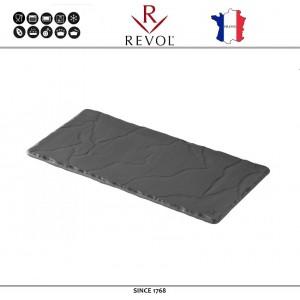 Блюдо BASALT для подачи прямоугольное, 20 x 10 см, REVOL, Франция, арт. 8822, фото 1