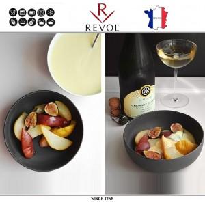 Миска-салатник BASALT, 750 мл, D 17 см, H 5.5 см, REVOL, Франция, арт. 8855, фото 3