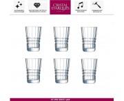 Набор стопок ARCHITECTE для водки, текилы, 6 шт, 60 мл, Cristal D'arques, Франция