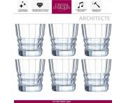 Набор низких стаканов ARCHITECTE для виски, 6 шт, 380 мл, Cristal D'arques, Франция