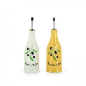 Бутылка для масла «Provence», 290 мл, фарфор, REVOL, Франция, арт. 8944, фото 3
