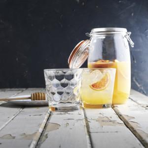 Высокий стакан, 410 мл, H 14 см, D 8.5 см, стекло, серия Honey, Vidivi, Италия, арт. 29905, фото 4