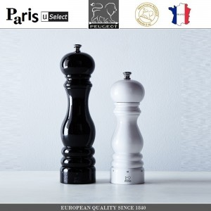 Мельница Paris U Select Laque Noir для соли, H 12 см, черный, PEUGEOT, Франция, арт. 8701, фото 6